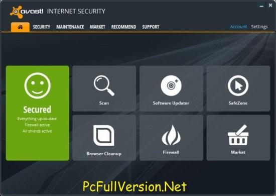 Avast Internet Security 2018 Crack + License Key Download