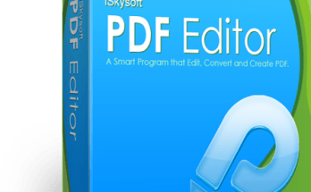 iSkysoft PDF Editor Registration Code With Crack Free Download