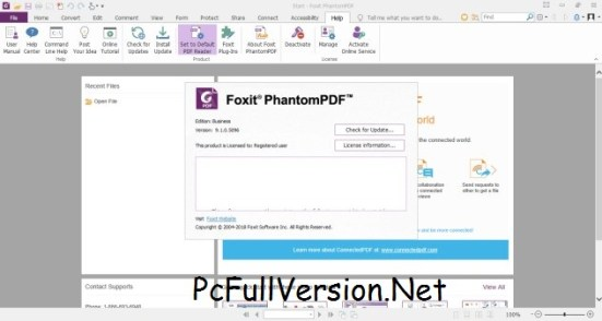 Foxit PhantomPDF Business Serial Key