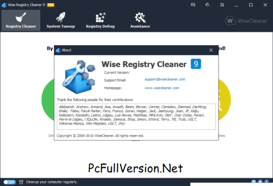 Wise Registry Cleaner PRO License Key with Crack Download