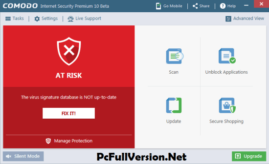 Comodo Internet Security Premium 10 License Key