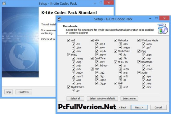 K-Lite Codec Pack 14.3.0 Full Mega