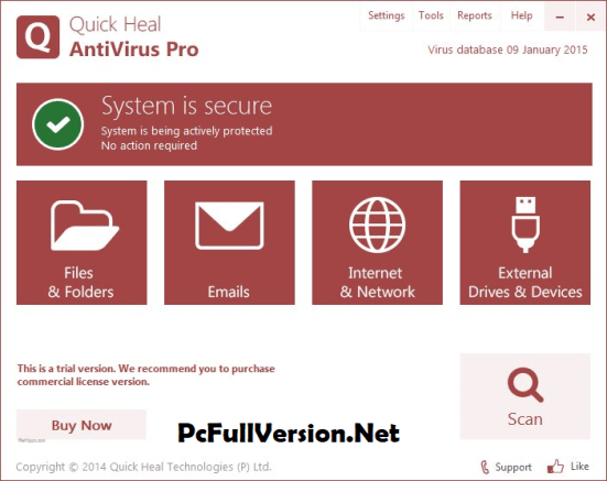 Quick Heal Antivirus Pro Product Key 2018