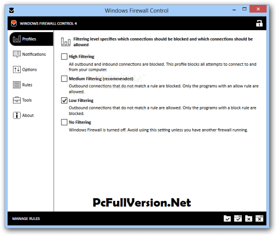 Windows Firewall Control Keygen