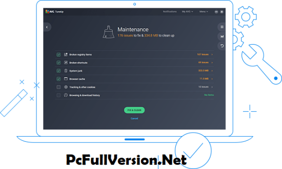 AVG PC TuneUp 2019 Serial Key