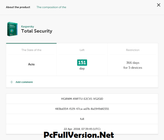 Kaspersky Total Security 2020 Activation Code Lifetime