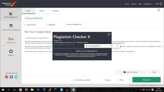 Plagiarism Checker X Serial Key