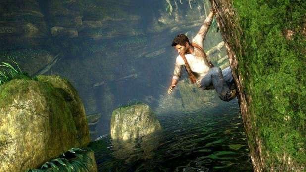תמונה מתוך אחד ממשחקי Uncharted