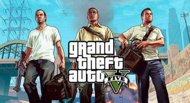 משחק השנה GTA V