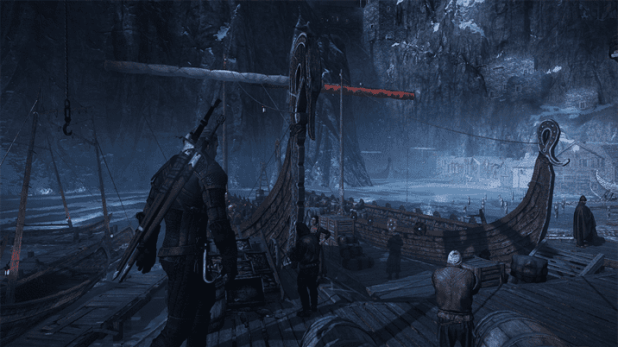 תמונה מהמשחק The Witcher 3, בהחחלט משחקיות וגרפיקה לא מהעולם הזה