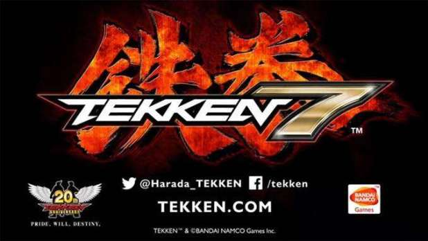 לוגו המשחק החדש בסדרת Tekken.