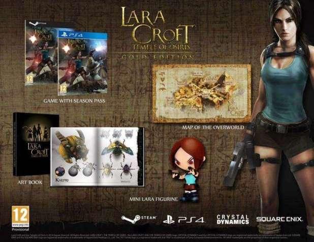 הגרסה המיוחדת של המשחק Lara Croft and the Temple of Osiris