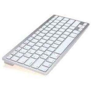 מקלדת בלוטות' אלחוטית דקה במיוחד למכשירי אייפד, אייפון, מק ו-PC - לרכישה