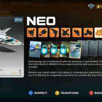 רכב המתנקשים Assassin's Creed Novi Aquilis Neo AirMech בעדכון החדש של המשחק AirMech Arena