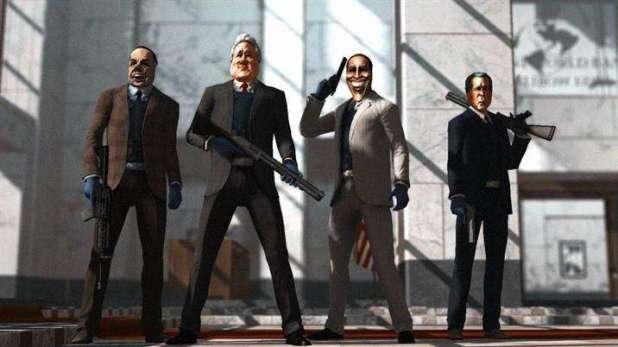 הדמויות מהמשחק Payday: The Heist