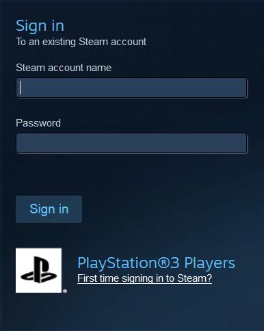 התחברו למשתמש ה- Steam שלכם.