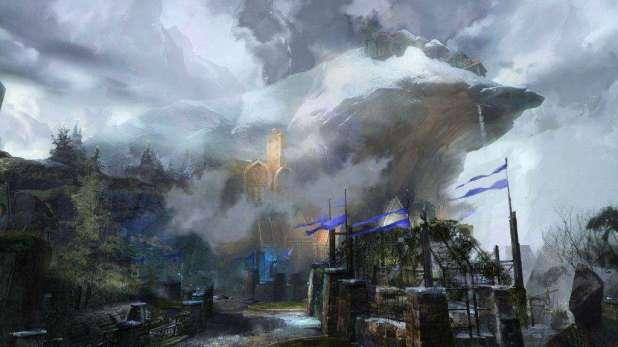 GW2HoT_01-2015_Heart_of_Maguuma_City_Concept_Stronghold_Concept2
