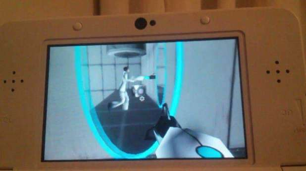 portal on 3ds