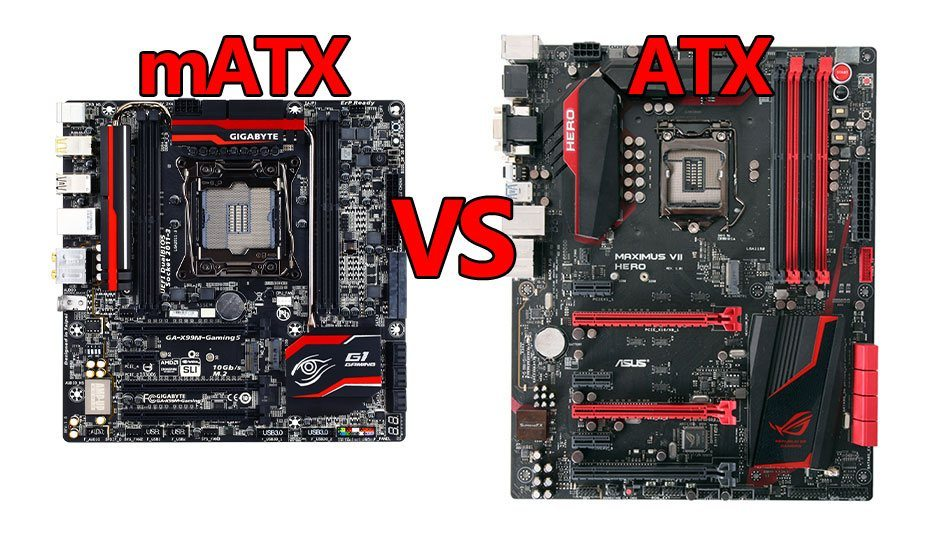 MATX Vs ATX Motherboard What Should You Use For Your
