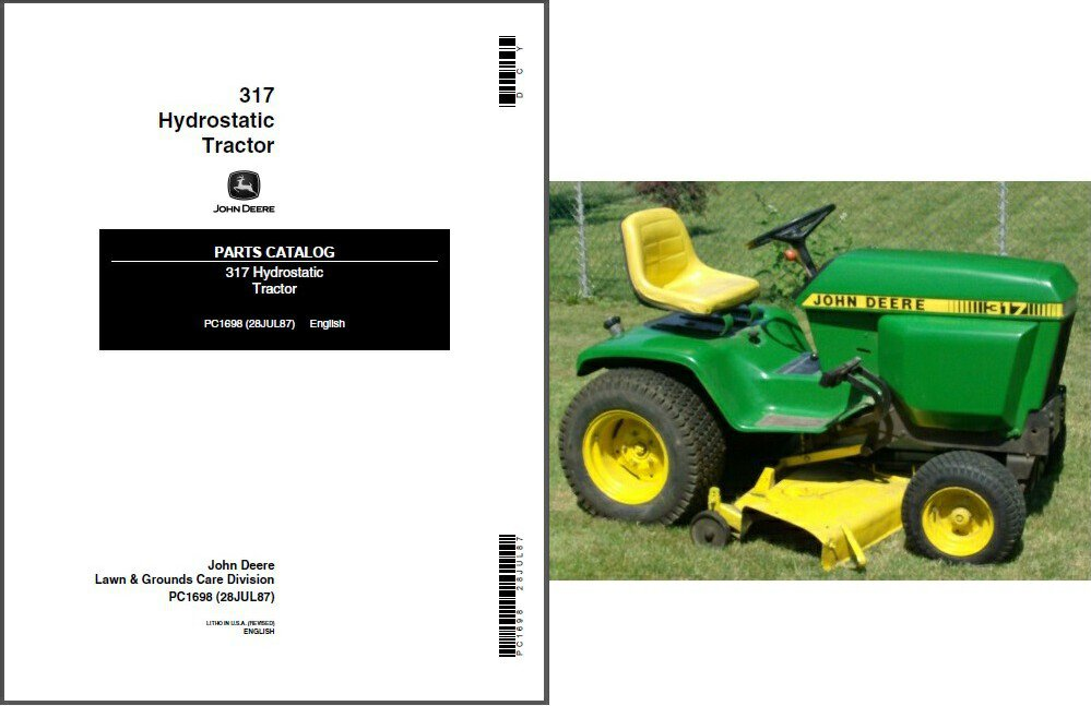 John Deere Manuals: John Deere