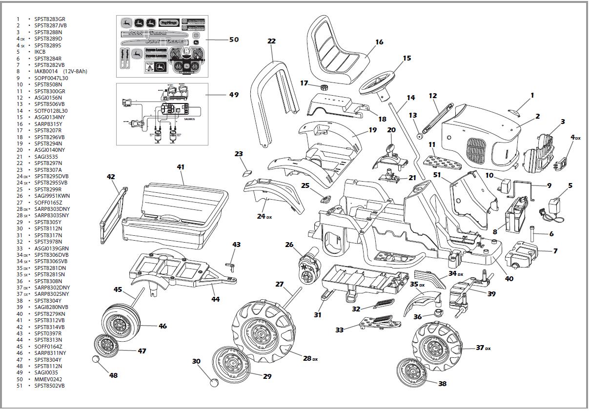 John Deere Parts Diagram