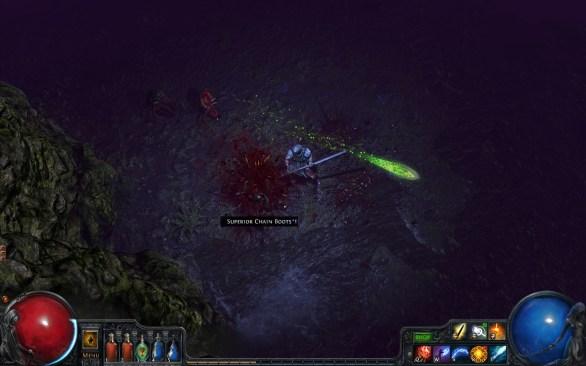Path of Exile PC gameplay screenshot