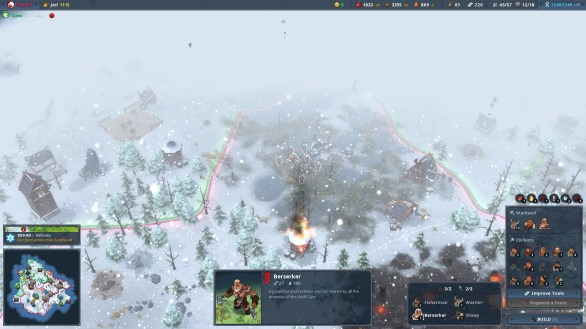 northgard gameplay screenshoot