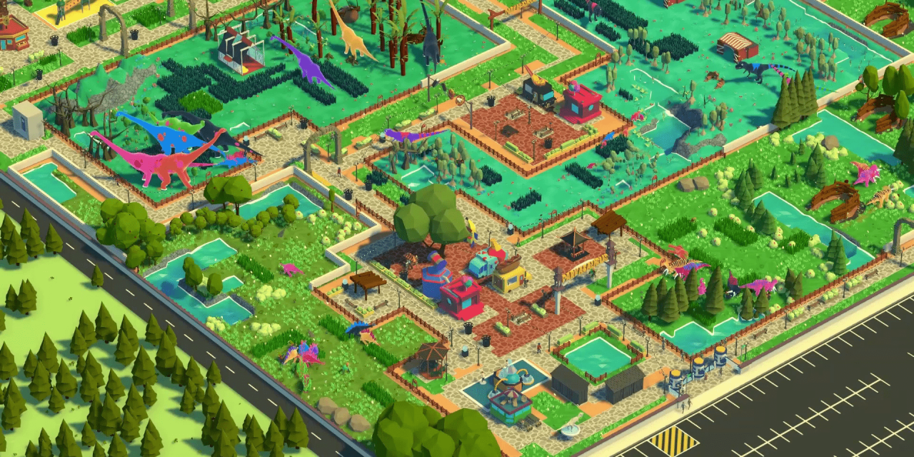 New PC Game Parkasaurus Lets You Dress Up Dinosaurs Within Your Own Custom Theme Park