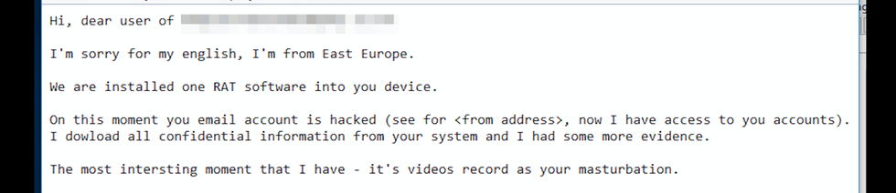 Email Necurs Spam