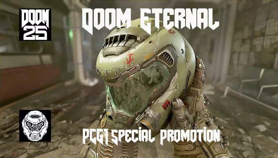 PCG1 Doom Eternal Special Promotions