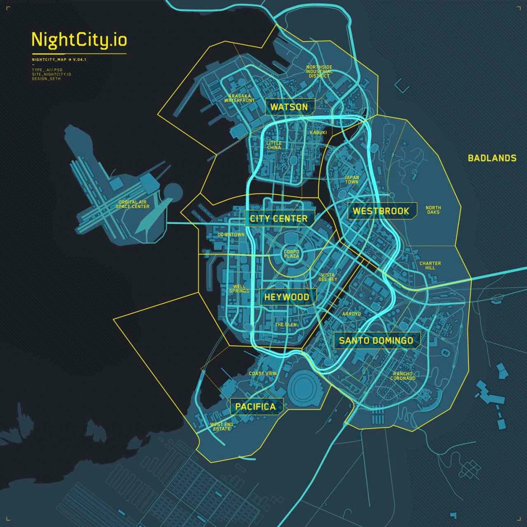 Cyberpunk 2077 Nightcity