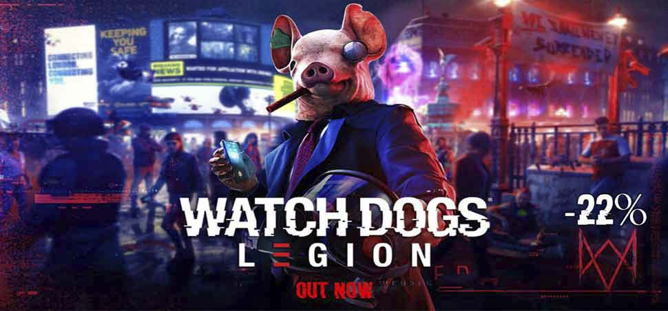 WatchDogs Legion Cdkeys Banner