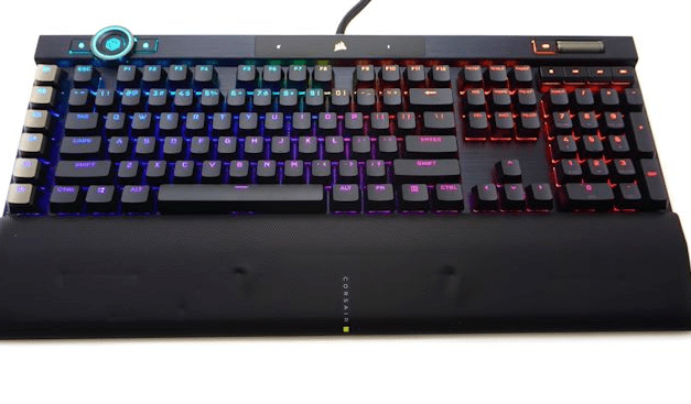 The Corsair Gaming K100 RGB Keyboard Review: Optical-Mechanical Masterpiece