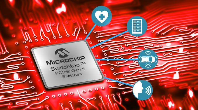 Microchip Announces First PCIe 5.0 Switches