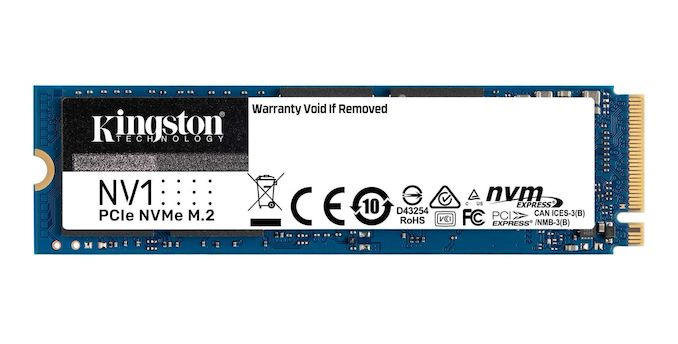 Kingston Introduces NV1 Entry-Level NVMe SSD