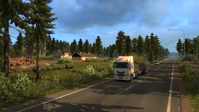 Euro Truck Simulator 2 Beyond the Baltic Sea Update v1 35 1 148 incl DLC PC Crack