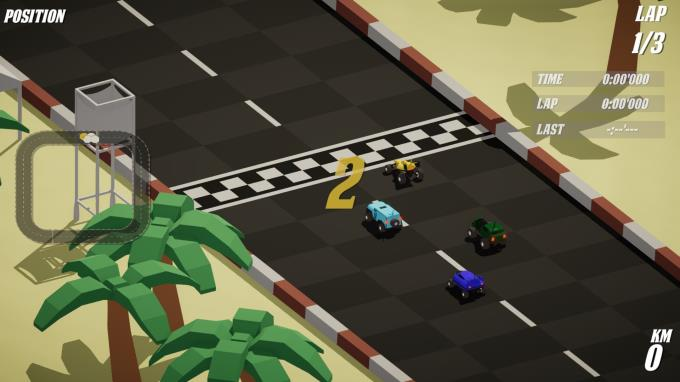 Omega Racers PC Crack
