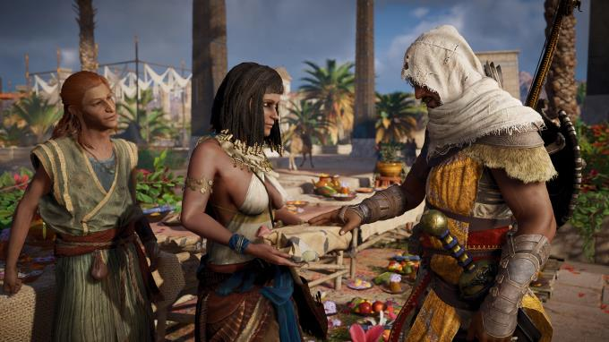 Assassins Creed Origins The Curse of the Pharaohs Crack Only READNFO Torrent Download