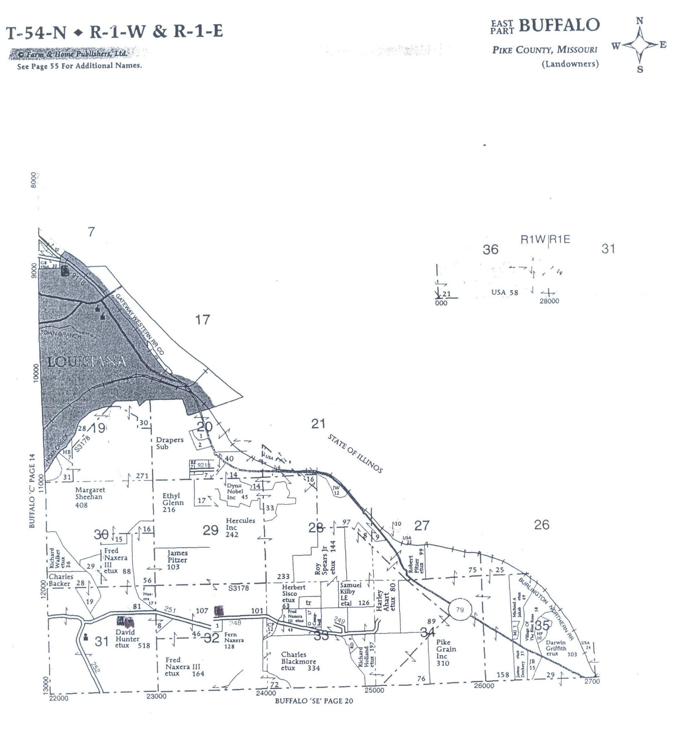 Pike County Missouri Cemeteries A L
