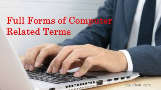 computer related full forms