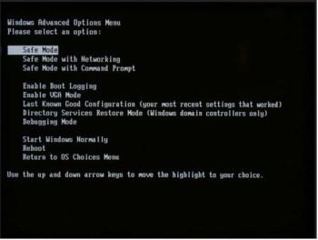 Start Windows on Diagnostic Mode