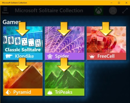 fix Microsoft Solitaire Collection App