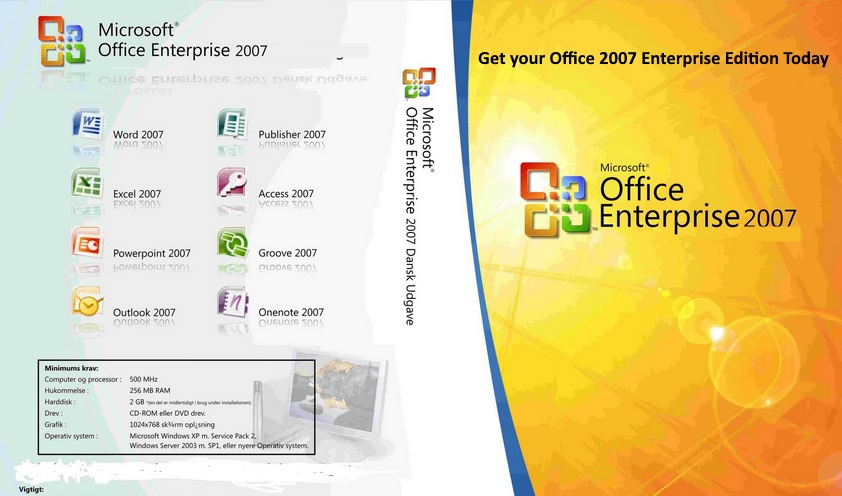 ms office ultimate 2007 download + key + crack