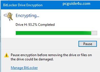 lock pen drive with password