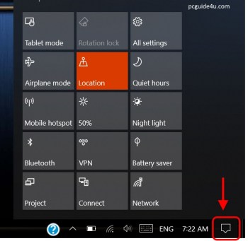 fix missing notification area icon