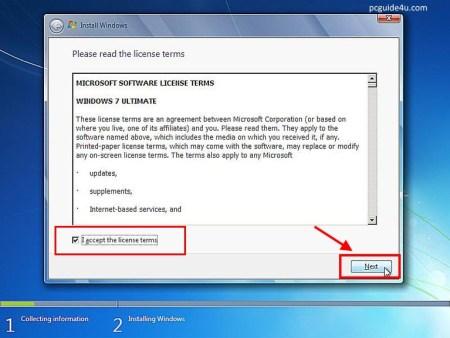windows 7 license