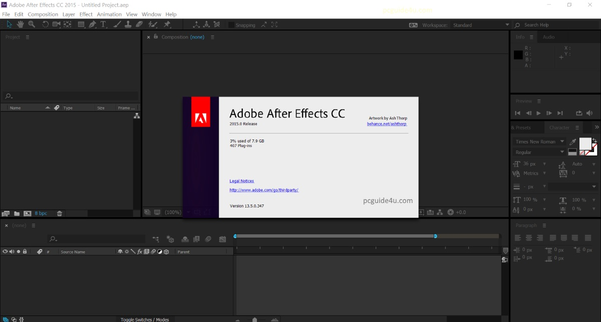 how to crack adobe after effects cc 2015