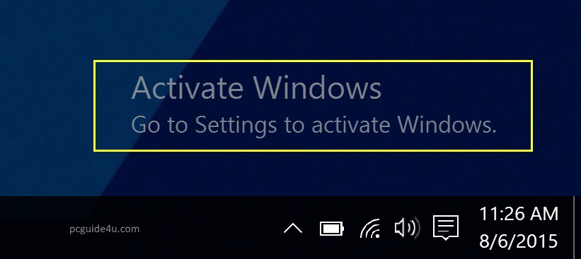 Windows Activator Download - Activate Windows 7/8 1 & 10 | PCGUIDE4U