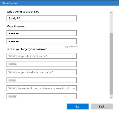 windows 10 create administrator account