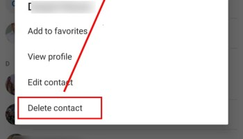 delete skype contacts from mobile app